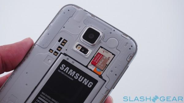 Galaxy S5 memory card slot