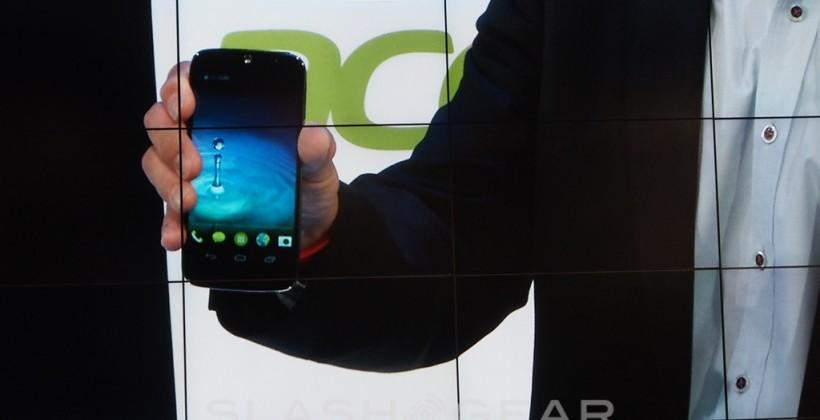 Acer Liquid Jade smartphone revealed with Leap wearable