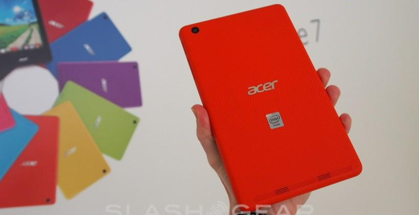 Acer Iconia One 7 hands-on: time to get colorful