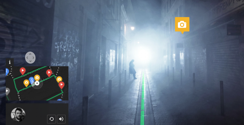 Google's Night Walk is an immersive evening tour of Marseille
