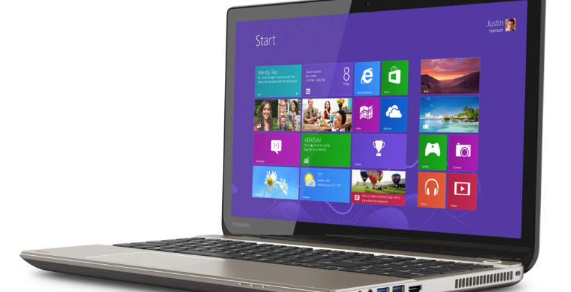 Toshiba unveils the world's first 4K laptop, the P55t
