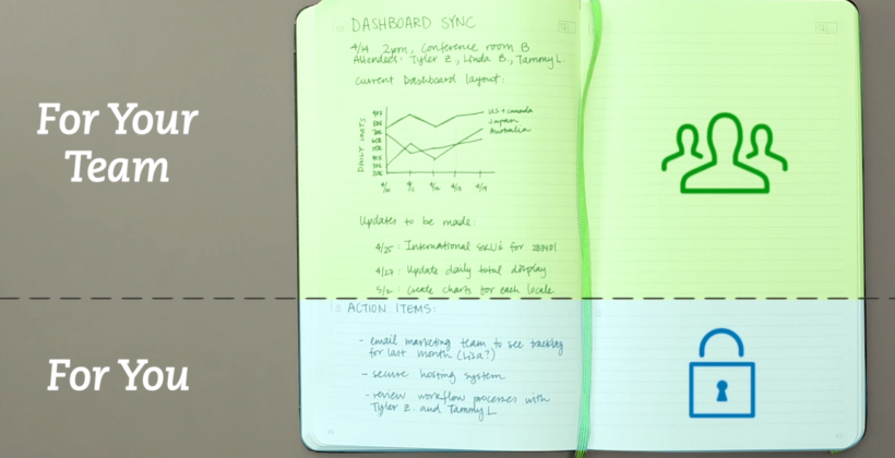 Evernote announces new Moleskine Business Notebook