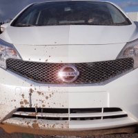 "Nissan tests paint coating for ""self cleaning"" cars"