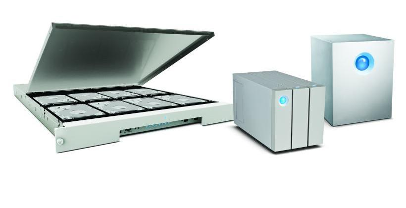 LaCie Thunderbolt 2 storage solutions flaunt speed and capacity for 4K workflow