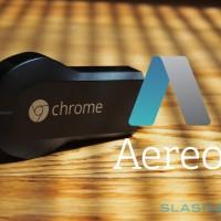 Chromecast gains Aereo: TV streamed to HDMI