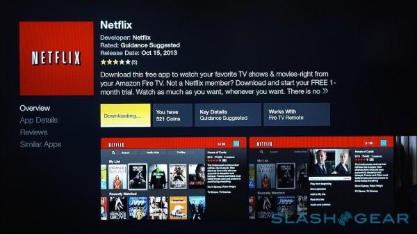 Netflix on Fire TV