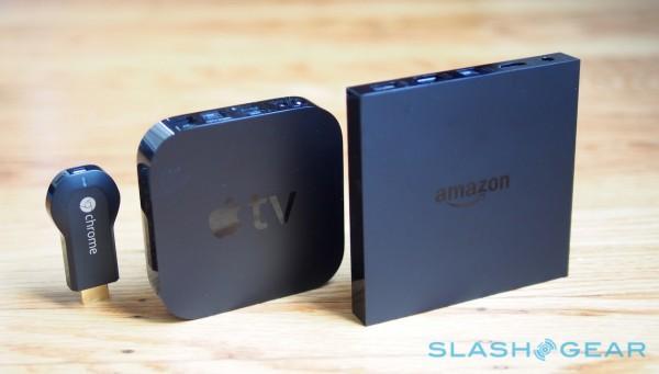 Chromecast vs Apple TV vs Fire TV