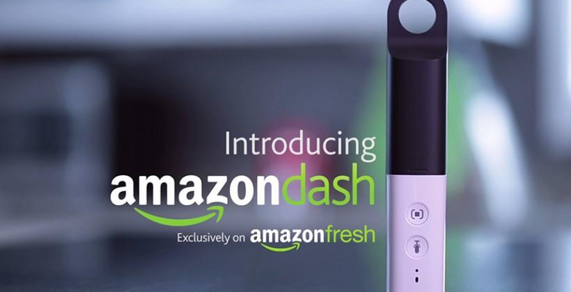Amazon Dash: scan or speak to order what you need