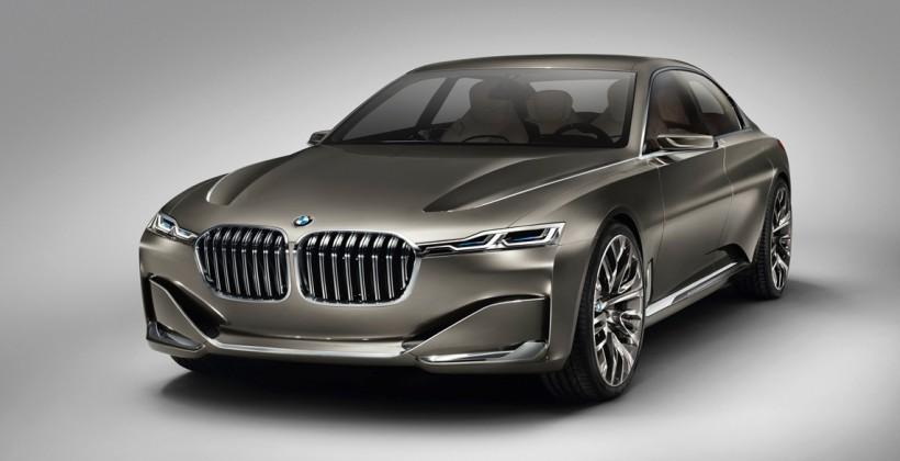 BMW Vision Future Luxury Concept: smart displays for all