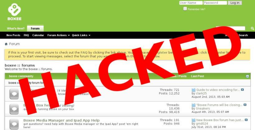 Boxee.tv forum hacking yields thousands of user messages and personal data
