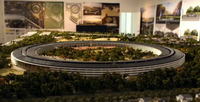 The Apple Campus 2 video that clinched the Cupertino spaceship