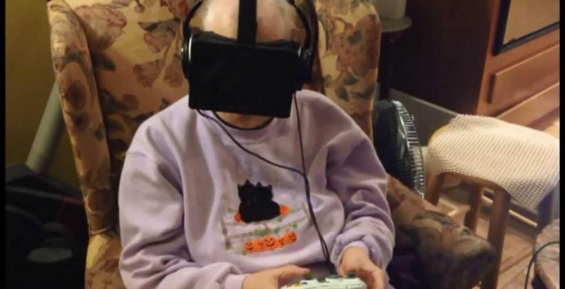 Oculus Rift creates outdoor VR experience for a dying woman