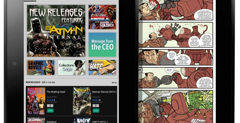 Comixology axes in-app purchases on iOS