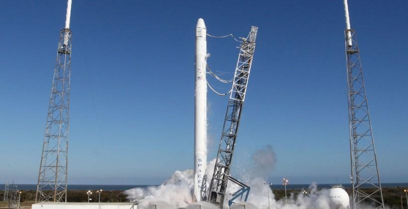 SpaceX CRS-3 Falcon 9 launches for ISS resupply mission