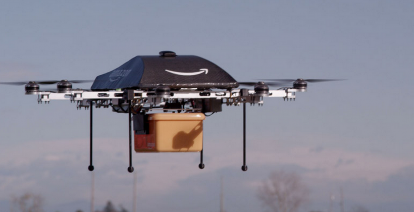 Amazon Prime Air expands: Bezos tells of drone generations 5-8