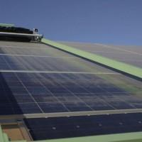 Robots employed as first fully automated solar panel cleaners