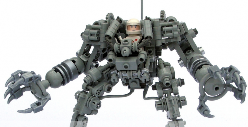 LEGO Exosuit comes next in CUUSOO fan-made lineup