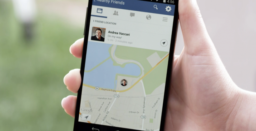 Facebook Nearby Friends tentatively tracks friendslist