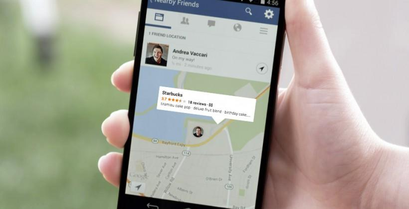 "Big surprise: Facebook will eventually push ads with ""Nearby Friends"""