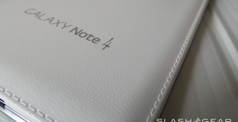 Galaxy Note 4 specifications begin to flow