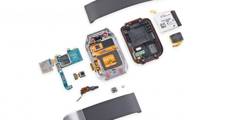 Samsung Gear 2 teardown reveals a repairable device