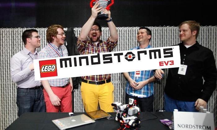 LEGO Mindstorms robot battle inspired by DIY printer