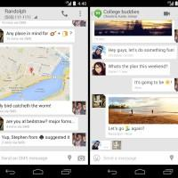 Google Hangouts 2.1 for Android merges IM and SMS