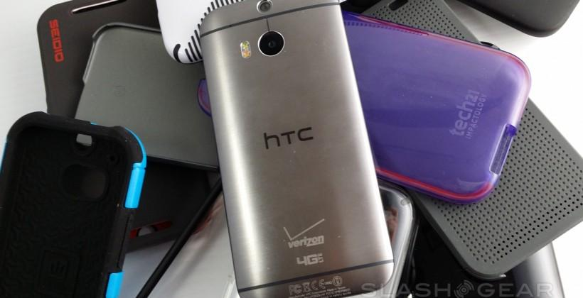 The big HTC One M8 best case round-up and review