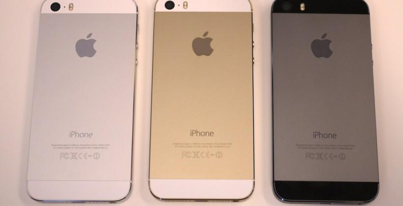 iPhone 6 specifications leak aside 5s panel photo