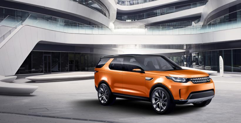 Jaguar Land Rover Discovery Vision Concept unveiled at Beijing Auto Show 2014