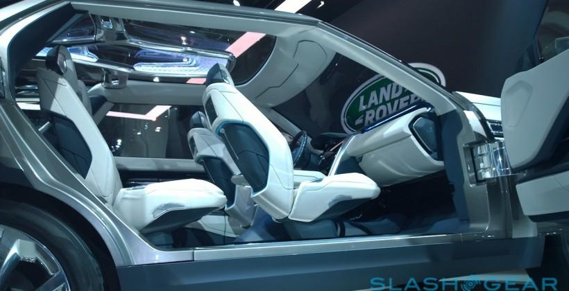 Land Rover Discovery Vision Concept: Inside Tomorrow's SUV