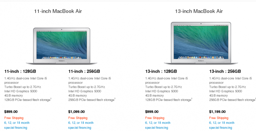 MacBook Air refresh arrives with slightly faster CPU