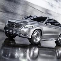 Concept Coupe SUV breaks out of the boxy Mercedes SUV mold