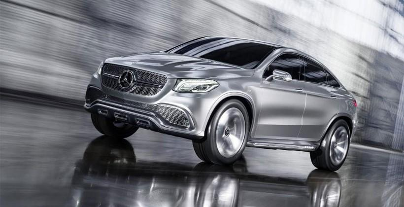 Concept coupe suv breaks out of the boxy mercedes suv mold for Mercedes benz boxy suv