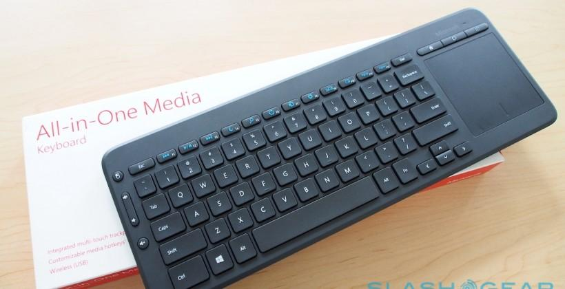 e764b3ee82e Microsoft All-in-One Media Keyboard targets tablets and TVs - SlashGear