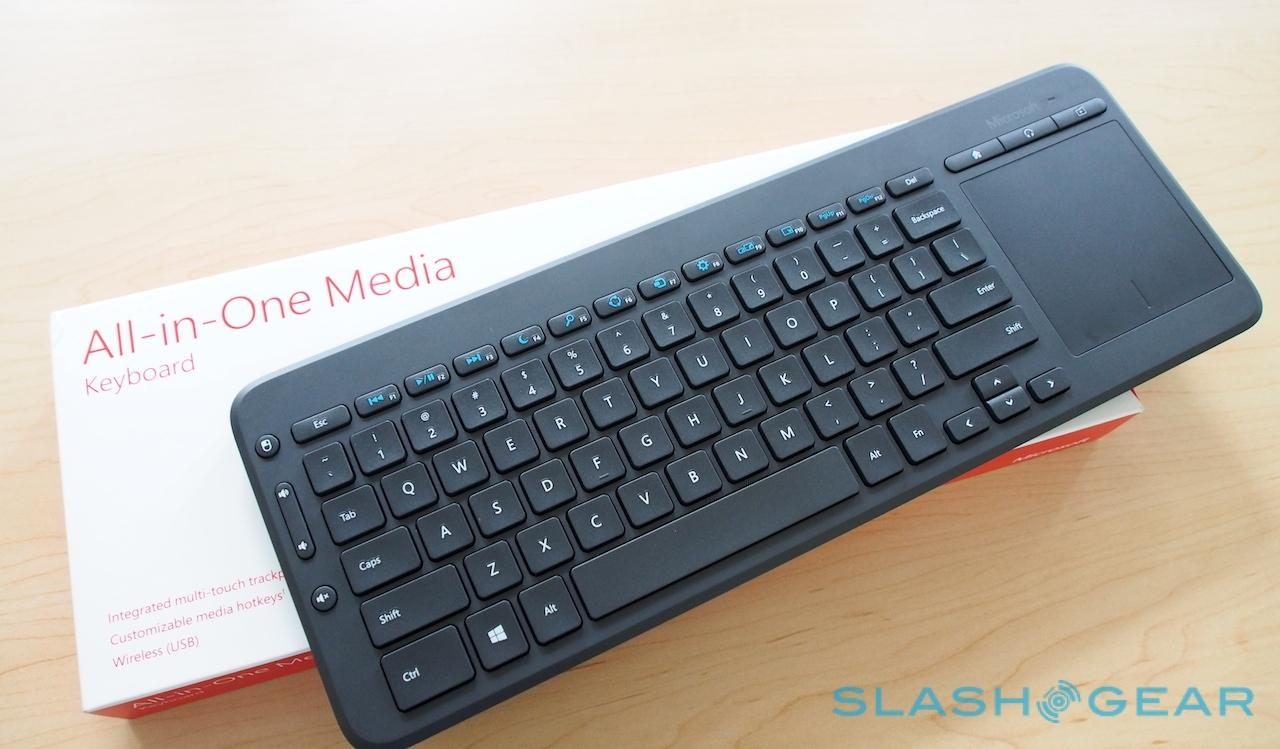 Microsoft All-in-One Media Keyboard targets tablets and TVs