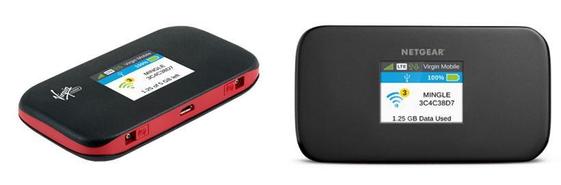 Virgin Mobile Netgear Mingle hotspot gives 12.5 hours of active usage on battery