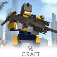 Atari Minimum combines Minecraft-style crafting with third person shooter