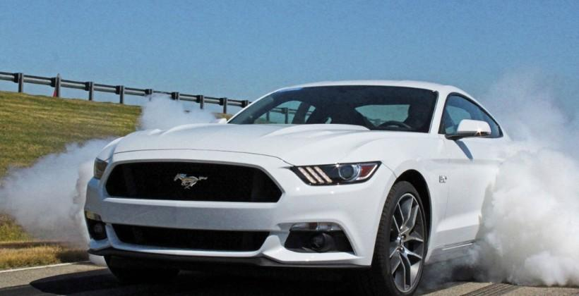 2015 Ford Mustang GT gets factory line lock and launch control