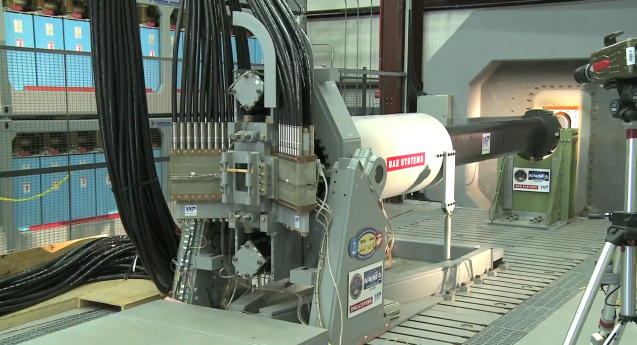 US Navy deploying railguns and lasers (with no sharks in sight)