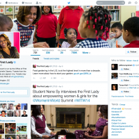 Twitter redesign launches with Michella Obama and more