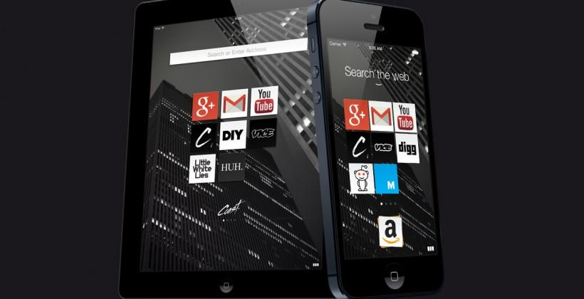Opera Coast for iPhone makes snackable web mobile