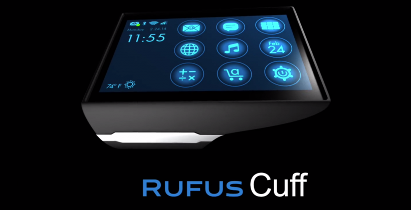Rufus Cuff has all the right wrist wearable tech specs, but it's bulky