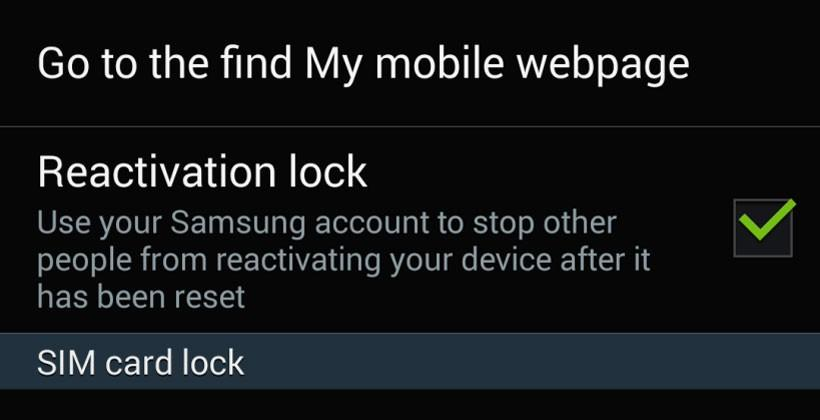 Galaxy S5 anti-theft features to be preloaded on Verizon and US Cellular