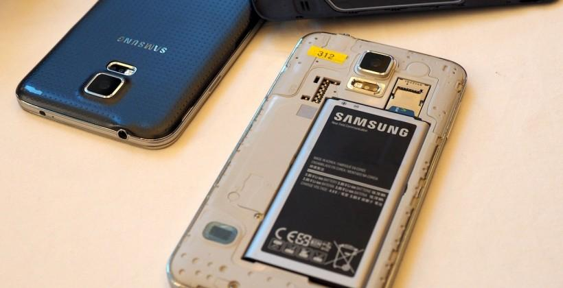 Galaxy S5 Teardown reveals display-level barrier