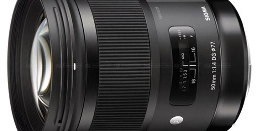 Sigma 50mm F1.4 DG HSM Art lens gets pricing and release date