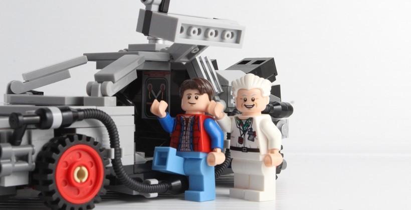 Back to the Future DeLorean Time Machine LEGO Review