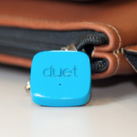 Duet Bluetooth tag: proximity sense for Android and iPhone