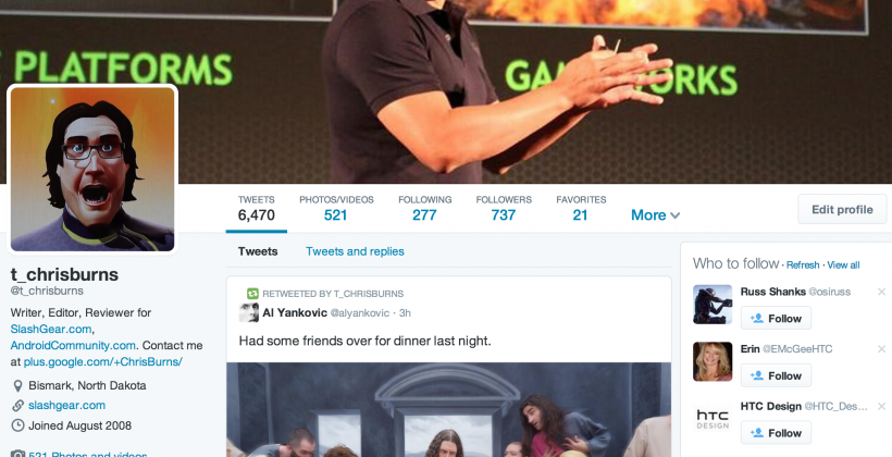New Twitter Profiles live today: here's what changed