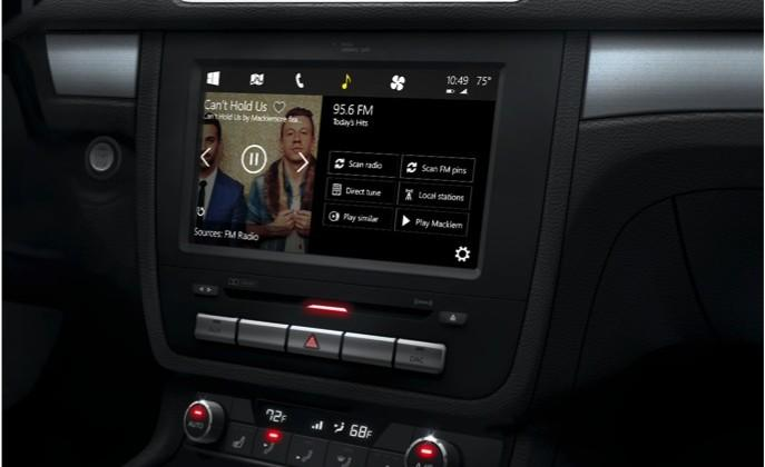 Windows in the Car to put Cortana in the dashboard